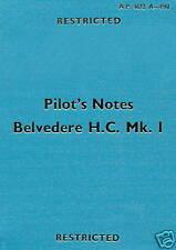 BRISTOL ( WESTLAND ) TYPE 192 BELVEDERE H.C.Mk.1 P.N.