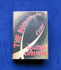 AGATHA CHRISTIE The Boomerang Clue 1st American Edition