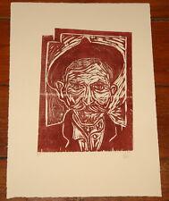 Billy Childish Self Portrait II LIMITED EDITION in legno del 15 ART PRINT ~ Tracey Emin