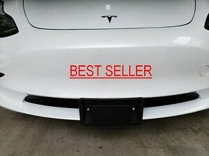 No-Hole Tesla Model 3/Y Front License Plate Installation kit (Stainless Steel)