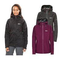 DLX Womens Waterproof Hiking Jacket Hooded & Breathable Rain Coat