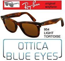 Occhiali da Sole RAYBAN ORIGINAL WAYFARER RB 2140 954 Sunglasses HAVANA Ray Ban