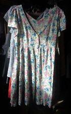 Ralph Lauren $98 Denim & Supply Summer Dress Empire Waist White Red Blue Pink