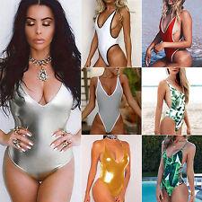 femmes pièce unique Monokini Maillot de bain Bikini Ensemble Bandage
