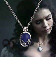 Film The Vampire Diaries Katherine Anti-sunlight Lapis Lazuli Pendant Necklace