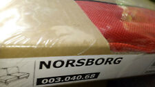 IKEA - Housse module 2 places NORBORG FINNSTA Rouge
