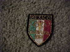 1968 Mexico Summer Olympics Logo Patch