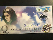 More details for amy johnson, queen of the skies 1st day cover signed margaret thatcher