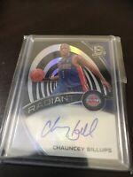 Panini Spectra Chauncey Billus Auto Holo SP /99 Pistons Legend