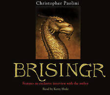 Brisingr: Book Three (The Inheritance cycle), Christopher Paolini | Audio CD Boo