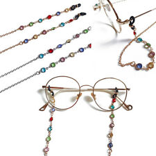 Reading Glasses Chain for Sunglasses Cords Bead Eyeglass Lanyard Straps Eyewear