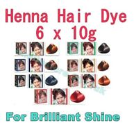 Herbul Hair Dyes-Natural Henna Powder for Brilliant Shine Different Colors 60g.