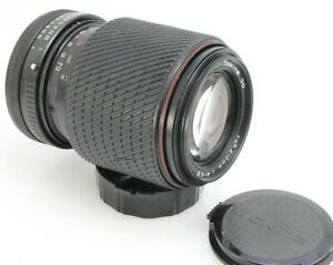 Tokina SD 70-210mm, f3.5-4.8, manual focus, macro zoom lens Canon FD mount, caps
