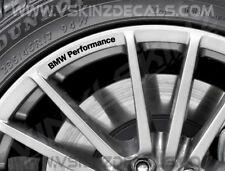BMW Performance Logo Premium Rad Felge Abziehbilder Aufkleber Kit Alpina M3 M4 i