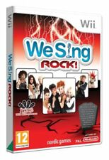 We Sing rock Nintendo Wii PAL RU