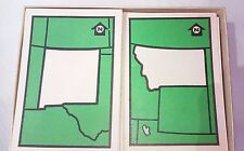 1956 Know Your States Card Game Geography