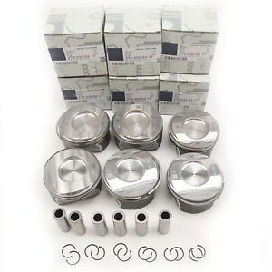 Piston & Ring Set Fit For Mercedes-Benz GLS350 GLS300 GLS400 GL400 3.5L M276 V6