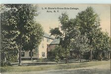A View Of L.H. Stone's Grove Side Cottage, Acra NY 1914