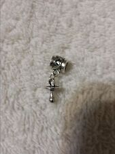 New European Charm Silver Baby Pacifier. Buy1,19 more ship free! Buy 5 get 1 Fre