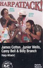 Harp Attack! by James Cotton Harmonica Junior Wells Carey Bell Billy Branch