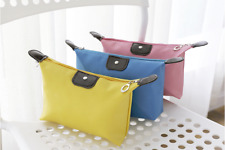 Cosmetic Makeup Purse Wash Bag Organizer Pouch Pencil Case Waterproof Toiletry