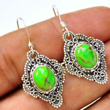 Turquoise Green Natural Fine Earrings