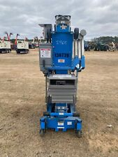 2012 Genie Awp25 Man Lift 25 Deck31 Work Hgt 12v Push Around Style Outriggers
