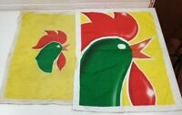 X2 1998 Vintage Kelloggs Sunshine Breakfast Collection Tea Towels