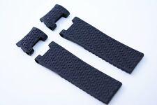 Uhrenarmband Kunststoff 22 mm Schwarz für Ulysse Nardin Maxi marine diver strap