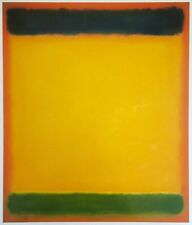 "MARK ROTHKO VTG LITHOGRAPH PRINT ABSTRACT EXPRESSIONIST POSTER ""UNTITLED"" 1954"