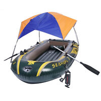 Inflatable Boat Sun Shelter Awning Tent Fishing Boat  Anti-UV For Rubber Boat