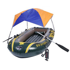 Fit 2 person Inflatable boat Sun Shelter Fishing Boat Awning Tent Rubber Boat
