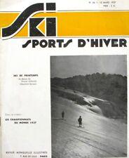 Ski Sports d'Hiver n°46 - Championnat du Monde - Refuges et Chalets - Oberland
