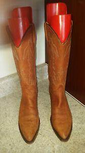 Womens Size 8 M DAN POST Western Cowboy Boots