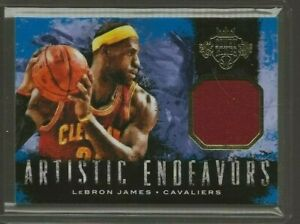 2014-15 Panini Court Kings LeBron James Artistic Endeavors Jersey 225/299 #1