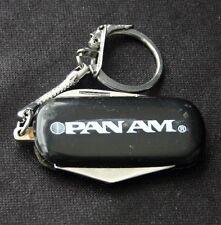 Vintage PAN AM Pocket Knife Bottle Opener Key Chain