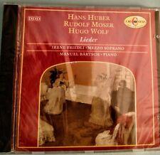 Hans Huber, Rudolf Moser, Hugo Wolf: Lieder: Irene Friedli: Mezzo-Soprano