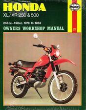 buy paper xr honda motorcycle workshop manuals ebay rh ebay co uk 1984 Honda XR500 1979 Honda XR 500 Specs