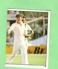 Scanlens Greg Chappell Cricket Trading Cards