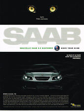 PUBLICITE ADVERTISING 045  2006  SAAB  9-5  BIOPOWER  LYNX