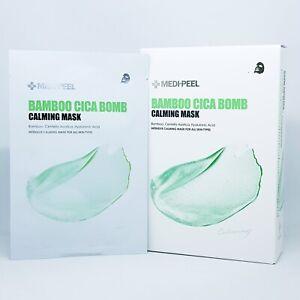 MEDI PEEL Bamboo Cica Bomb Calming Mask 25ml x 10pcs Moisturizing K-Beauty