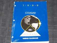 1999 Ford Cougar Wiring Diagrams Shop Manual