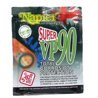 Napier super VP90 corrosion and rust protection inhibitor gun safe sachet