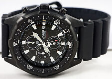 Casio AMW330B-1A 100M Analog Diver Sports Watch Black Dial Chronograph Resin New