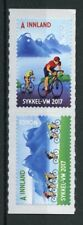 Norway 2017 MNH UCI Road World Championship 2v S/A Set Mountains Cycling Stamps