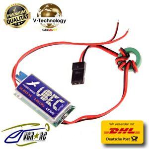 Hobbywing 3A 5V/6V BEC UBEC Eingangsspannung 5.5-26 V 2-6S Lipo SBEC Akku G61 WS