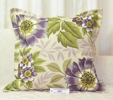 "CUSHION COVER 23.5""x23.5"" 60cm sq Oxford Style iLiv Jewel Purple Cotton Blend"