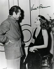 OFFICIAL WEBSITE Vincent Sherman (1906-2006) Rita Hayworth 8x10 AUTOGRAPHED