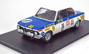 BMW 2002 ti Stuck / Schikentanz winner Nürburgring 1970 - 1:18 Spark