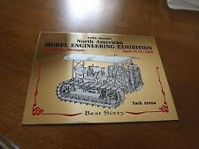 5th Annual North American Model Engineering Exhibition Brass Plaque